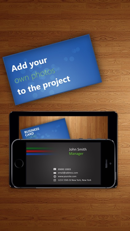 Business Card Studio Designer - Graphic Creator, Editor & Maker with Logos & Icons screenshot-4