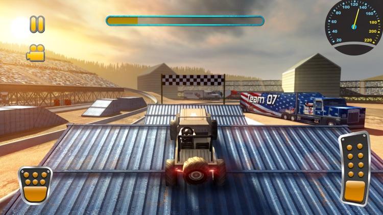 Jeep Stunt Racer Offroad 4x4 screenshot-3