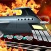 ロケット列車の戦い:列車対ロボット / Battle Trains Rocket Railroad: Subway Rail Surfers Rush & Run Train Game