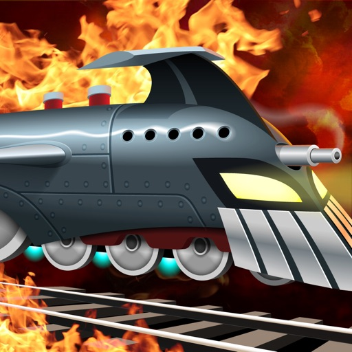 ロケット列車の戦い:列車対ロボット / Battle Trains Rocket Railroad: Subway Rail Surfers Rush & Run Train Game