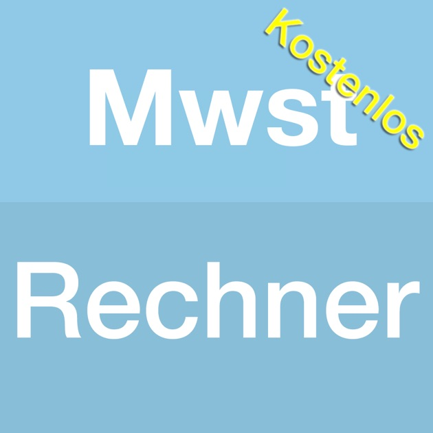 mwst rechner app kostenlos on the app store. Black Bedroom Furniture Sets. Home Design Ideas