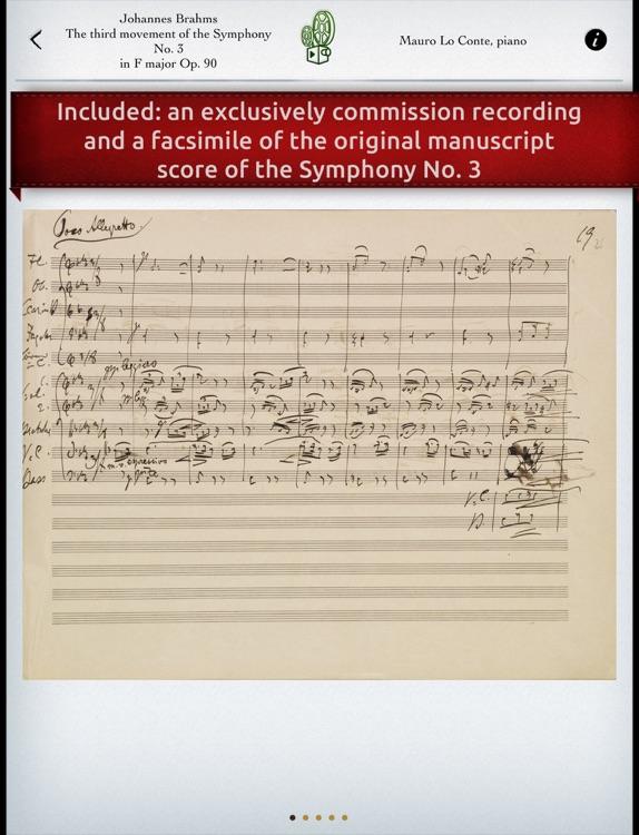 Play Brahms – Symphony No. 3 (interactive piano sheet music) screenshot-4