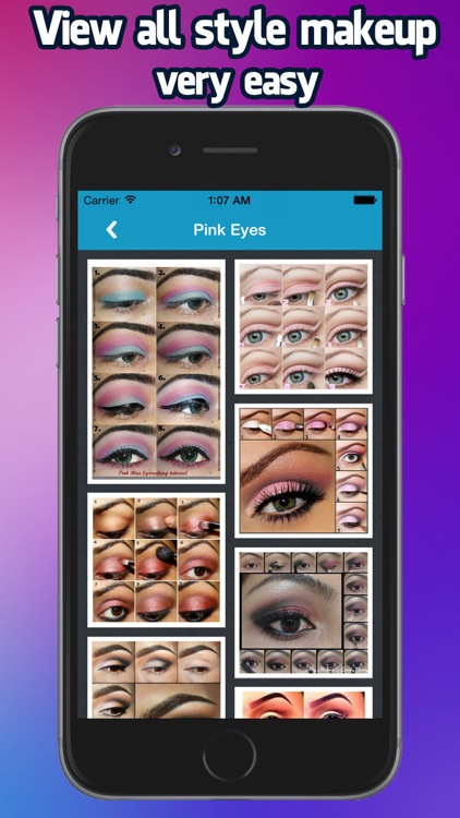 Eye Makeup Step By Step 2015 screenshot-3