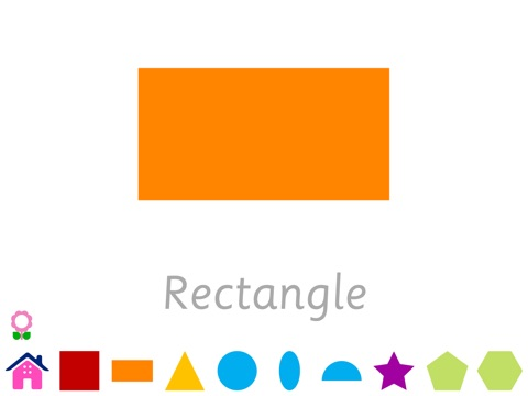 Shapes for Kids (Geometry Flashcards for Kindergarten Teachers and Students) Increase IQ, Develop Cognitive Skills in Autism for autistic children-ipad-1