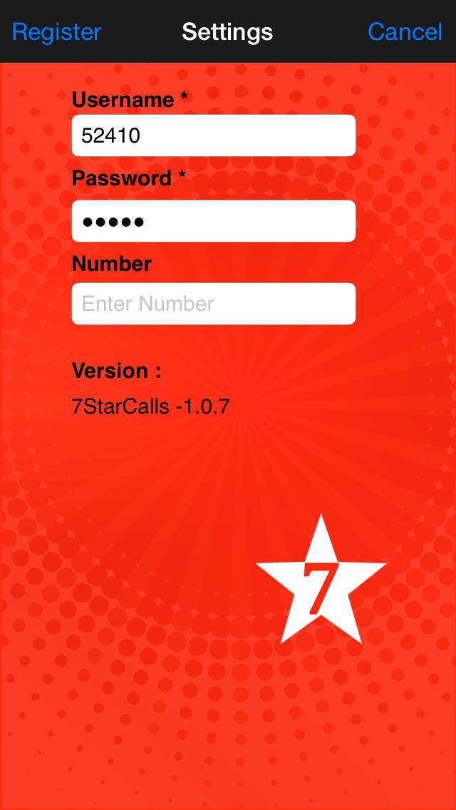 7StarCalls screenshot two