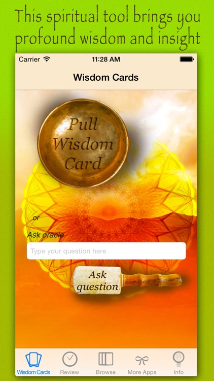 Cards of wisdom and spiritual growth - Messages and guidance from your inner self screenshot-3