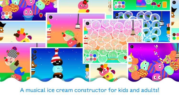 Bubl Ice Cream - A musical dessert for kids screenshot-4