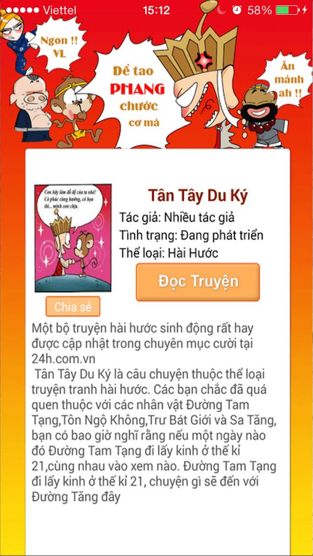 Tân Tây Du Ký 2011 - Truyện tranh hài hước, vui nhộn, siêu bựa screenshot one