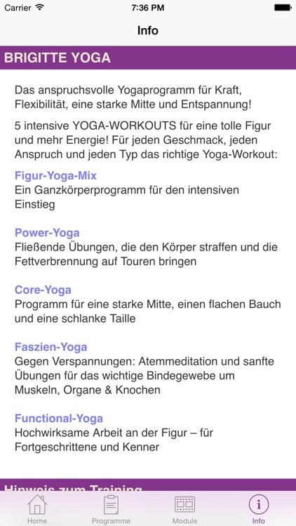 Brigitte Fitness YOGA screenshot-3