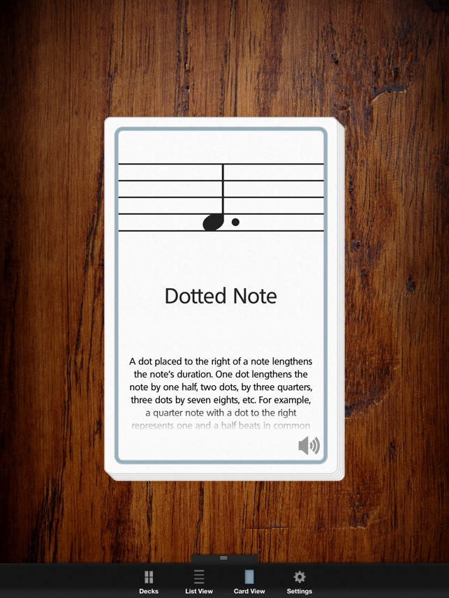 Musicnotes Decks: Music Flash Cards on the App Store