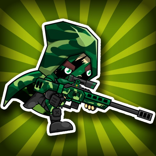 Army Raiders - War Battle of Soldiers in the Wilderness iOS App