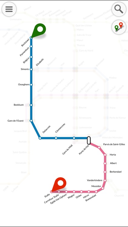 Metro Mapp Lite screenshot-1