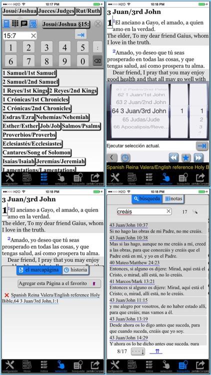 Spanish(Reina Valera)/English reference Bible screenshot-3