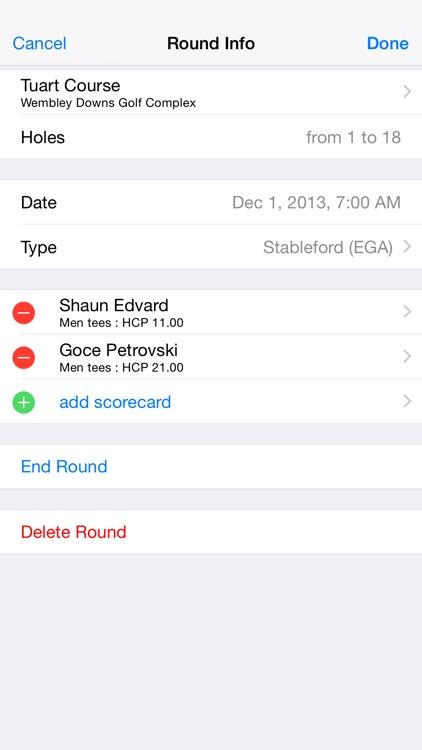 Golf Scores: GPS Rangefinder screenshot-3