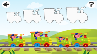 A Train-ing Rid-ing Kid-s Game-s For Toddler-s and Baby