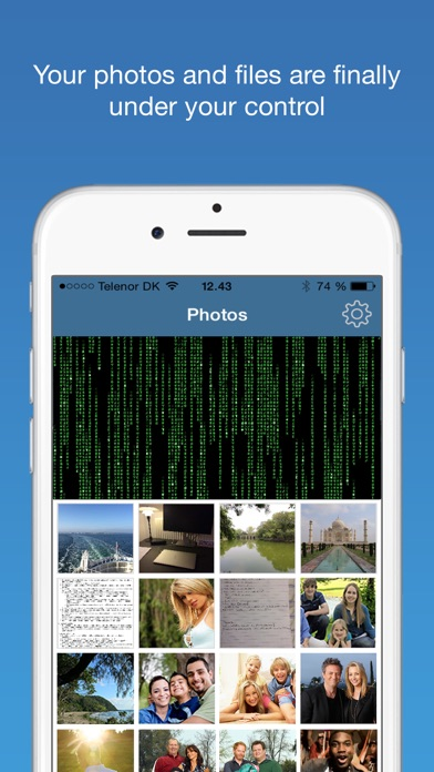 Finger-Print Camera Security with Touch ID & Secret Pattern Unlock Protect-ionのおすすめ画像2