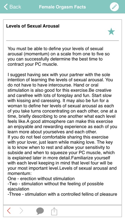 Female Orgasm Facts