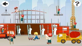 点击获取A Sizing Game; Learn and Play for Children on a Construction Site