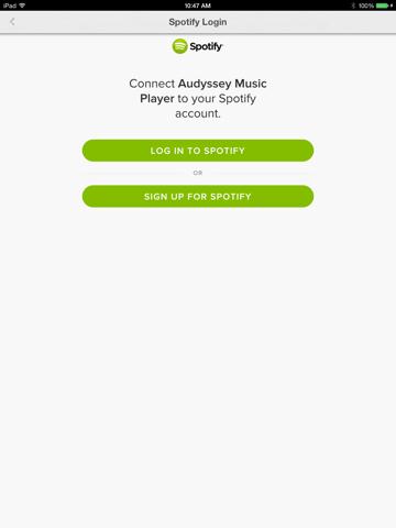 Audyssey Music Player-ipad-1