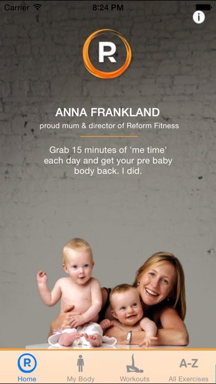 Postnatal Pilates by Reform