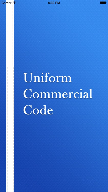 UCC ( Uniform Commercial Code ) - Law Series