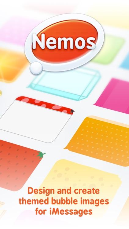 Nemos - Themed Bubble Image Designer for iMessages screenshot-4