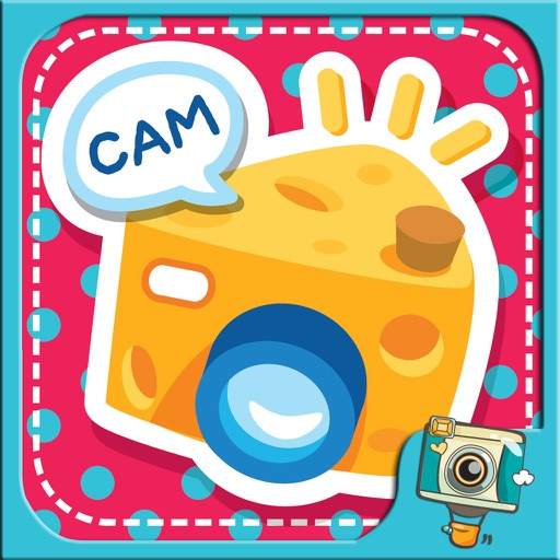 CAM CHEESE  by PhotoUp - cute sticker for decorate photos iOS App