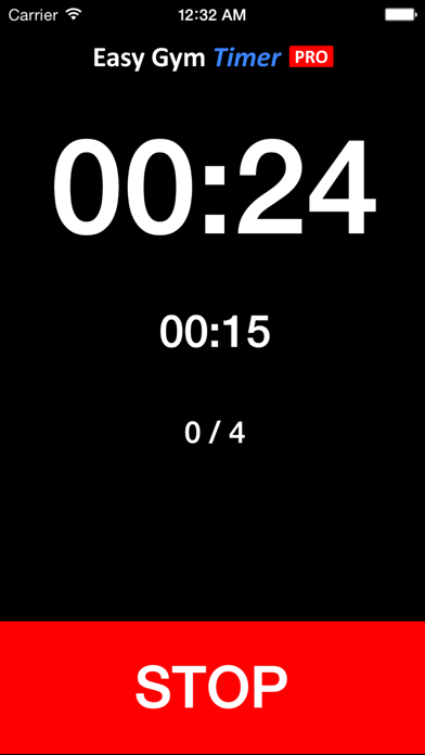 Easy Gym Timer PRO screenshot two