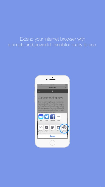 Webby - Web translator made simple