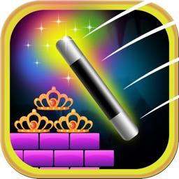 Princess Carnival Magic Wand Catapult -  Hit the Tiara Free