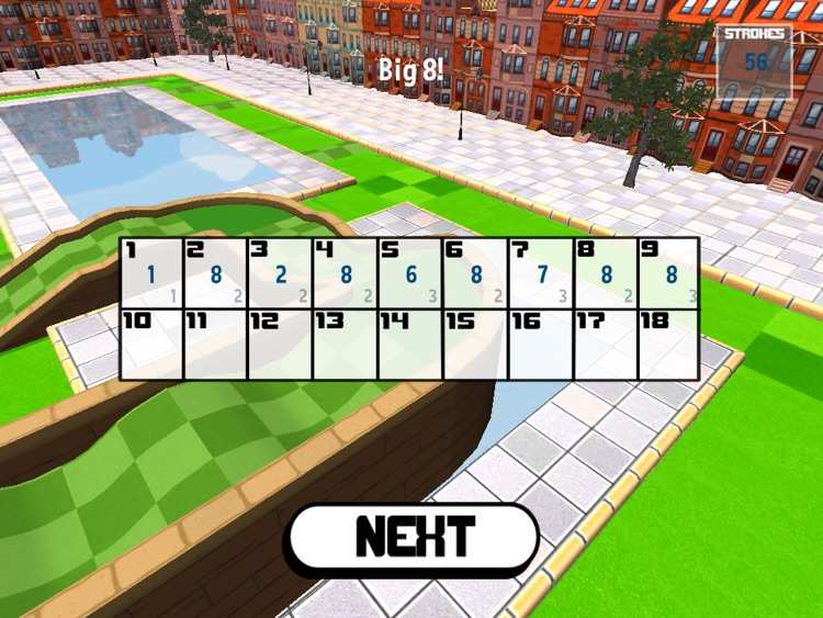 Micro City Golf - for the iPad screenshot-2