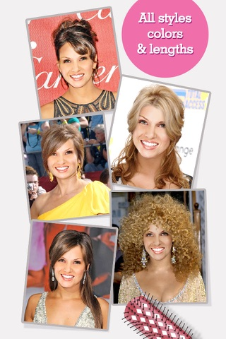 FACEinHOLE® Hairstyles for Women - Hair styler with cute haircuts for girls screenshot 1