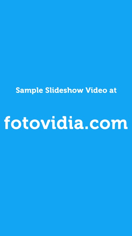 fotovidia: slideshow video maker from photos and music screenshot-4