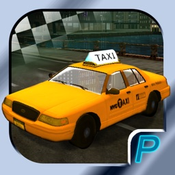 3D Taxi City Parking - Crazy Cab Traffic Driving Simulator Extreme : Free Car Racing Game