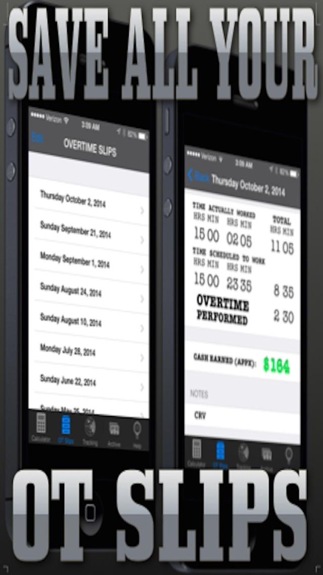 Cops Overtime Calculator review screenshots