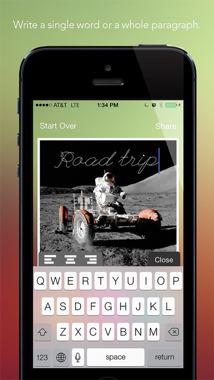 Werds - Quickly add text to pictures screenshot-3