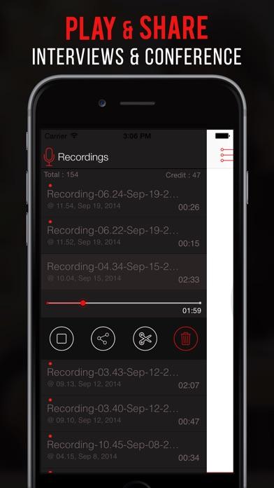 Screenshot for Callcorder Pro: call recorder in Peru App Store
