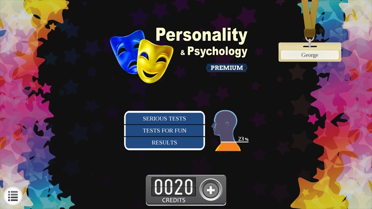 Personality Psychology Premium Lite - test quizzes by CrazySoft Limited