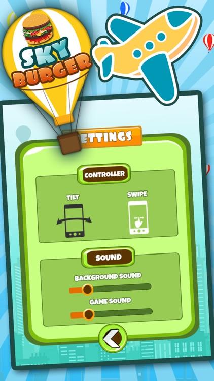 Sky Burger Mania Restaurant : Sky High Burger Tower a Burger maker game