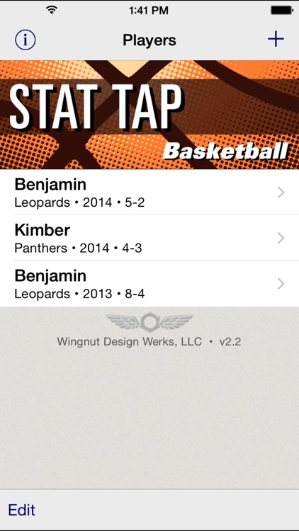 Stat Tap Basketball
