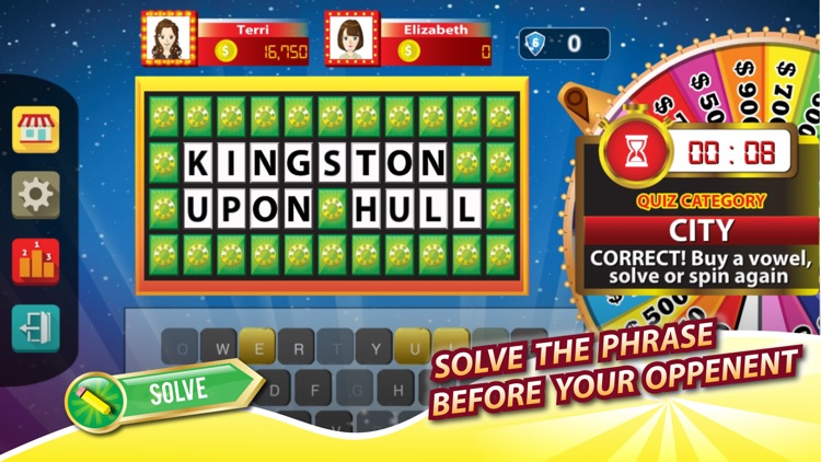 Amazing Wheel (UK) - Word and Phrase Quiz for Lucky Fortune Wheel screenshot-0
