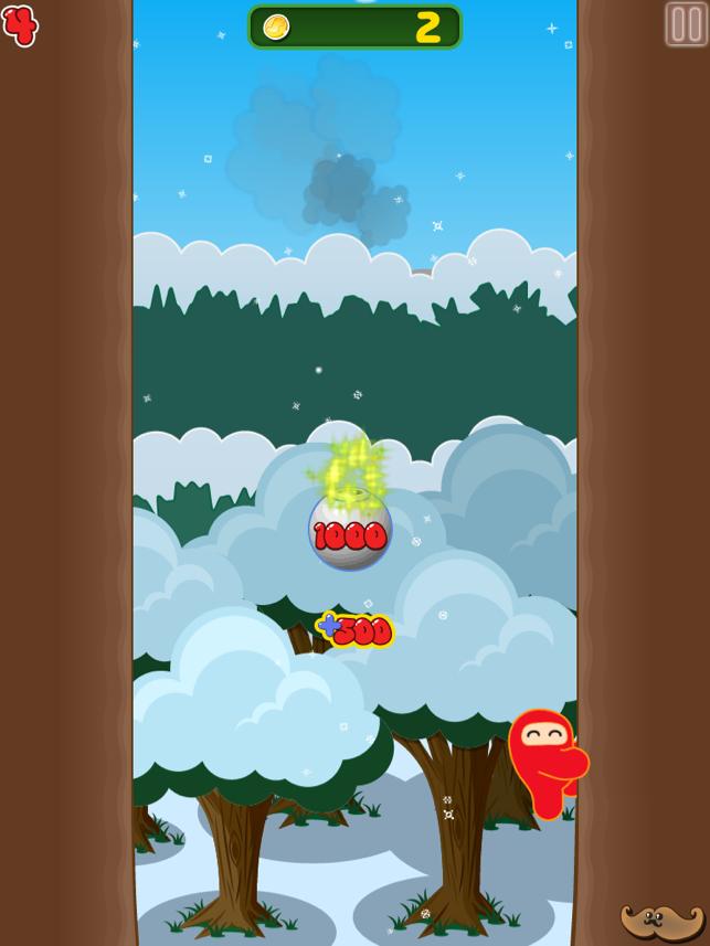 Ninjatown: Trees Of Doom! Screenshot
