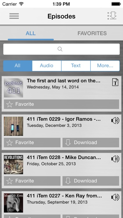 podcast411 App - learn about podcasting