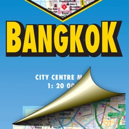 Bangkok. City map