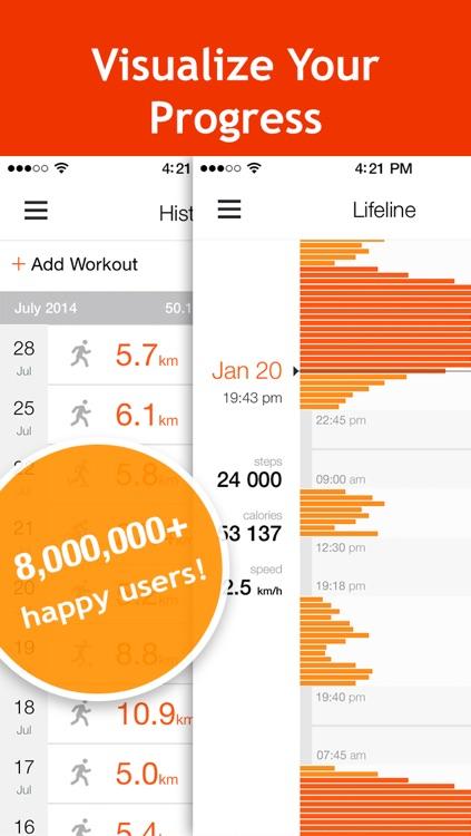 Moves Tracker: Running, Cycling, Walking, Jogging