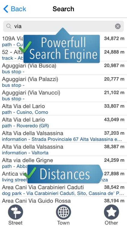Lake Maggiore & Lake Como Travelmapp