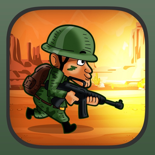 Army Soldier War Hero Run FREE - The Blood Brothers Desert Defense Game