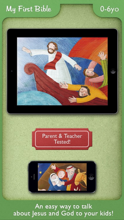 My First Bible PREMIUM – Stories and Picture Books for your Family and School with Kids under 7