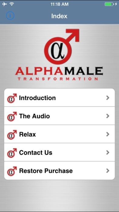 Alpha Male Transformation screenshot two