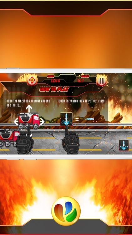 Fun Fire Fighters Racing Game screenshot-4